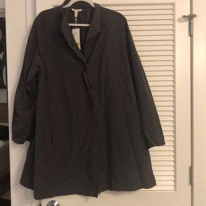 NEW Nylon Cotton Trench Coat